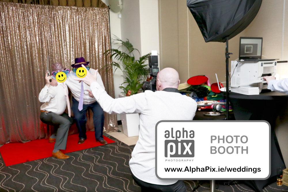 Photobooth setup photo logo