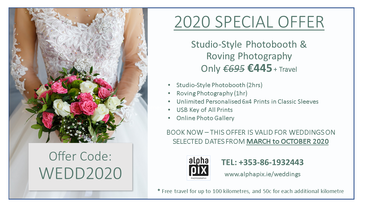 Photo Booth Special Offer for 2020